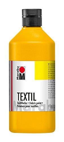 Marabu 17160075073 Peinture pour Textile, 500 ML, Noir