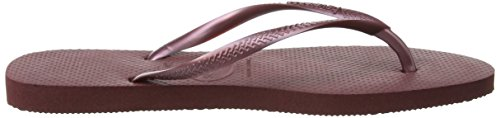 Havaianas Damen Slim Zehentrenner Violett (Grape Wine 2967)