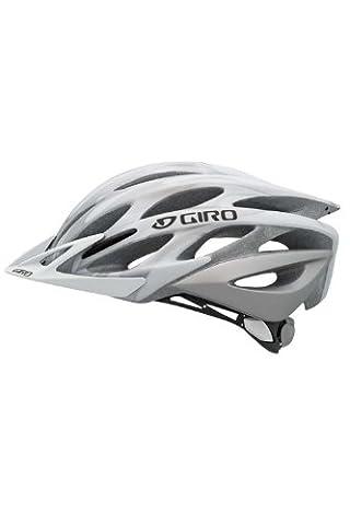 Giro Athlon Helmet 10 White mat white/silver flames Size:S (51-55