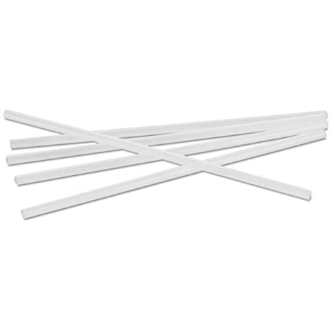 Jumbo Straws, 7 3/4, Plastic, Translucent, Unwrapped, 250/Pack, Sold as 1 Package by Boardwalk