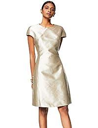 Rajesh Pratap Women's Shift Knee-Long Dress