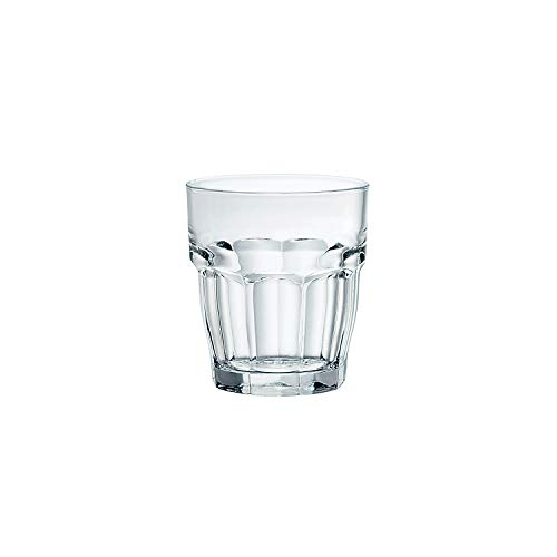 Bormioli Rocco Rock Bar Shot Glass, Set of 6 by Bormioli Rocco Bormioli Rocco Rock Bar