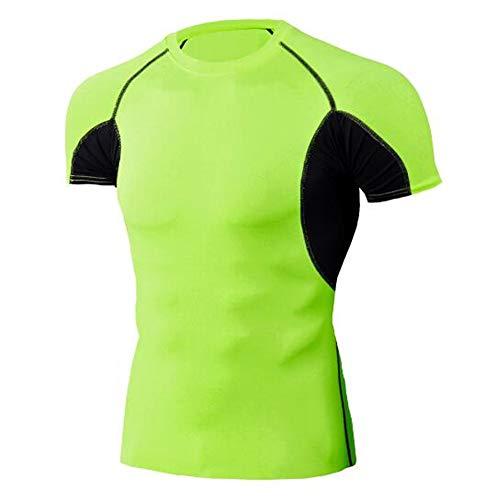 Männer Frühling Sommer Männer T-Shirts 3D Gedruckt Tier t-Shirt Kurzarm Lustige Design Casual Tops Tees Männlich,Stretch Fitness - C Grün 2XL