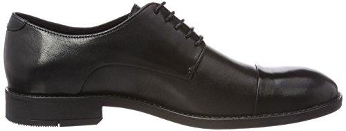 Bianco Classic, Derby Chaussures À Lacets Homme Noir (noir)