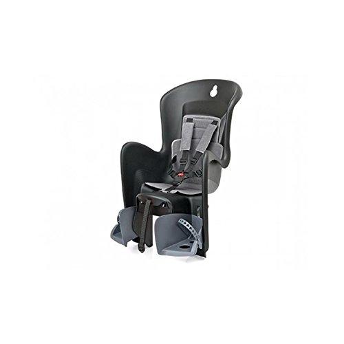 """POLISPORT Kindersitz """"Bilby QST"""" Schale: schwarz, Bezug: dunkel grau - Tragfähigkeit bis max. 22 kg"""