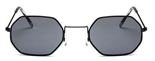 Sonnenbrille Meine Damen Hexagon Sunglasse Black Metal Frauen Designer Fashion Randlose Klare Meer Kontaktlinsen Sonnenbrille Uv400