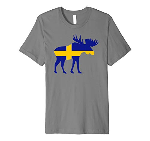 Elch Schweden T-Shirt