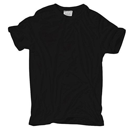 Männer und Herren Übergrössen T-Shirt 6XL 7XL 8XL Marke PROMODORO schwarz fallen gross aus!!! Schwarz