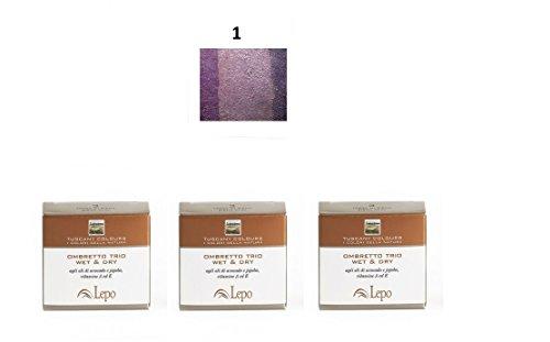 lepo-3-confezioni-di-ombretto-trio-wet-dry-tuscany-n1-tramonti-toscani-viola