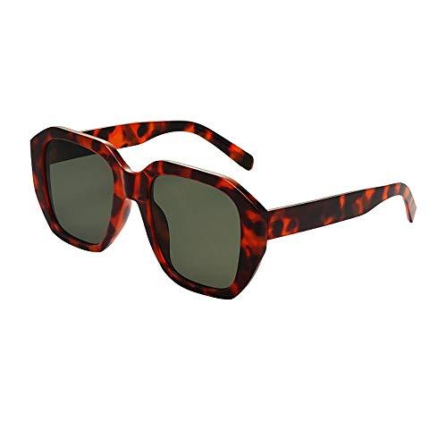 PinkLu GläSer Damen Retro-Stil Sonnenbrillen Schatten Sonnencreme Neues Design GroßE Linse Leopardenrahmen Beliebt Mode Temperament Sommer Neuer HeißEr Verkauf 4-Farbige Brille