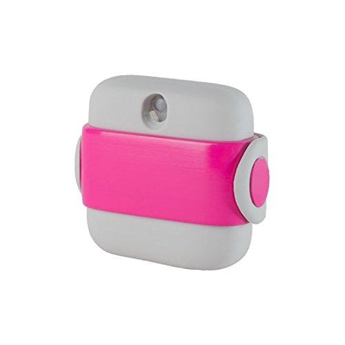 Hand Sanitizer by Banale | Distributeur de désinfectant pour les mains compact, portatif et parfumé | Conçu pour le voyage, notre vaporisateur à la main s'adapte dans une poche ou peut être attaché à des sacs, des sacs à dos, des ceintures et plus avec sa sangle élastique intégrée | Chaque pot est livré avec 100 pulvérisateurs et est facilement rechargeable | Sans alcool certifié sécurisé avec test dermatologique (Blanc et Rose)