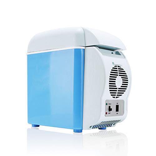 Tellgoy Frigorífico de automóvil 7.5L, Mini refrigerador Refrigerador portátil de Trabajo, Calentador...