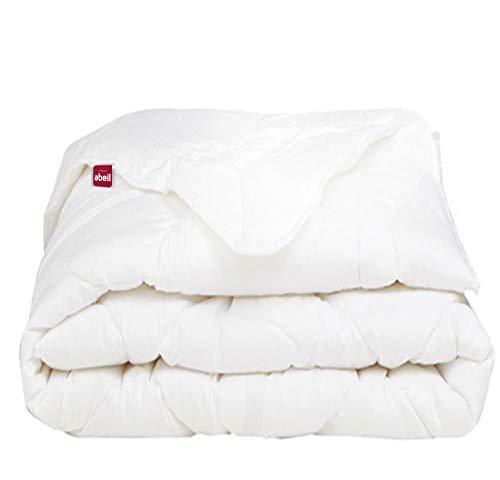 Abeil Bettdecke Bio Attitude leicht, Baumwolle, 200 x 200 cm, Weiß, 200 x 200 cm