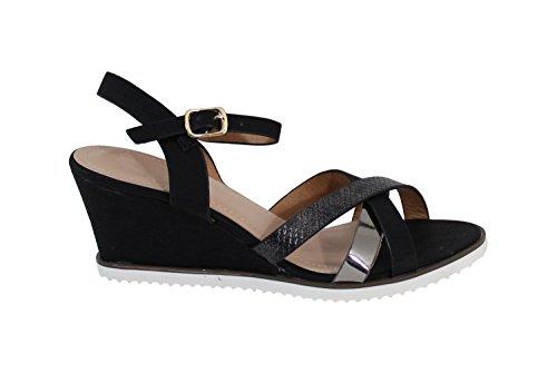 Sandale Style Bohème - No Name - Spéciale Été Noir