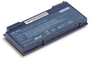 Acer BT.00604.016 Batterie Rechargeable Lithium-ION (Li-ION) 4000 mAh 11,1 V - Batteries Rechargeables (4000 mAh, Lithium-ION (Li-ION), 11,1 V, Noir)