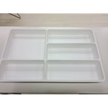IKEA Large Kitchen Utensils tray / Drawer Tidy, White