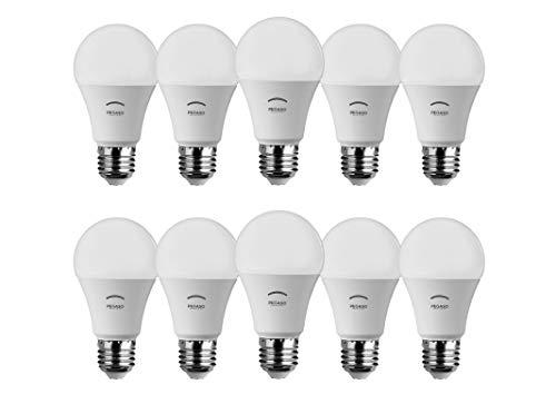 SET di 10 LAMPADINE LED GOCCIA A60 PEGASO, 10W 810 Lumen, Attacco E27, LUCE NATURALE 4000K° , Angolo di illuminazione: 230°