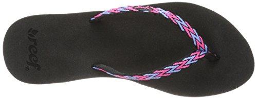 Reef REEF GINGER DRIFT  BLACK/HOT PINK/, Fashion femme Multicolore (BLACK/HOT PINK/KHB)