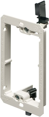 arlington-industries-lv1lp-1-gang-low-profile-low-voltage-mounting-bracket-non-metallic-10-pack