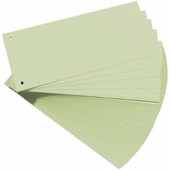 100 Herlitz Trennstreifen 180g chamois Farbe