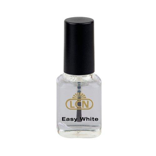 LCN Easy White hellt glanzlose Nägel auf, 8 ml