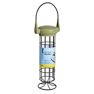 Petface 70040DS1 LokTop Squirrel Proof Fat Ball Feeder, Multi-Colour, 18.5x18.5x29 cm 13