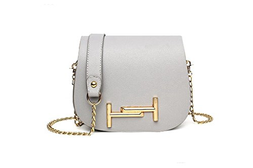 Nuove borse, signore di modo del sacchetto di spalla di modo, sacchetto della catena per il tempo libero, spalla, Messenger bag gray