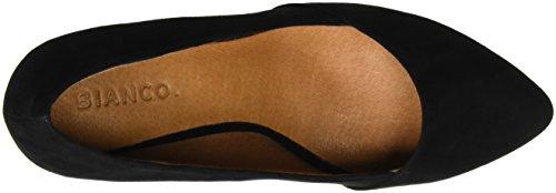 BIANCO - Basic Loafer Pump Jfm17, Scarpe col tacco Donna nero (nero)