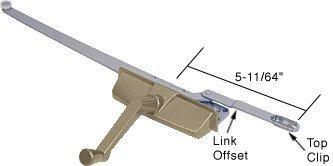 crl-coppertone-right-hand-entrygard-dual-arm-casement-window-operator-by-cr-laurence-by-cr-laurence