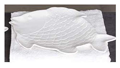 Deko-Teller Mare aus Porzellan 23,5 x 16 cm
