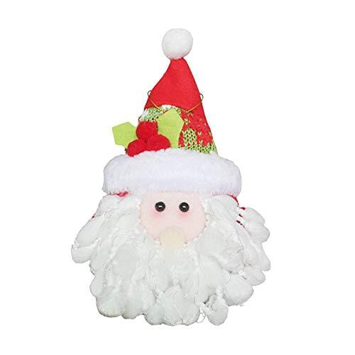 Parachute Santa - Xmas Gifts Christmas Tree Hanging Ornaments Santa Claus Snowman Elk Pendants Decorations - Decorations Home Decor Valentines Gold Decorative Christmas Entry Trees Beachy