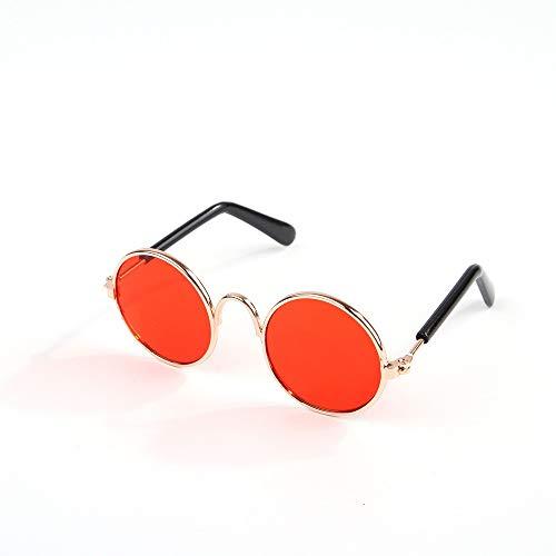 Brille für Haustiere Lustige niedlichen Hund Katze Retro Mode Sonnenbrillen Brille Schutzbrille Welpen Katze Lehrer Bachelor Cosplay Brille Pet Fotos Requisiten für kleine Hund Katze Vom Tierarzt empf