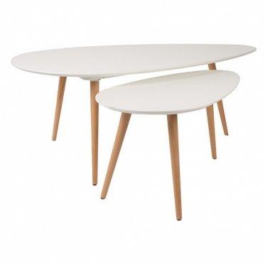Set di 2 tavolini