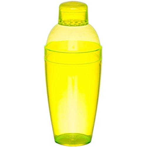 Heavy Duty Kunststoff Cocktail Shaker?Gelb?14oz (400ml)