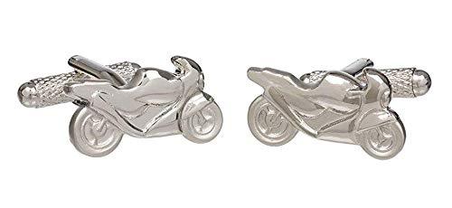 Onyx - Art Boutons de manchettes Design moto de course Coffret cadeau Onyx Art
