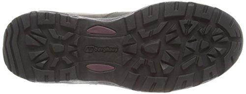 Berghaus Fellmaster, Chaussures de Randonnée Hautes Femme Gris (Charcoal/Charcoal L76)