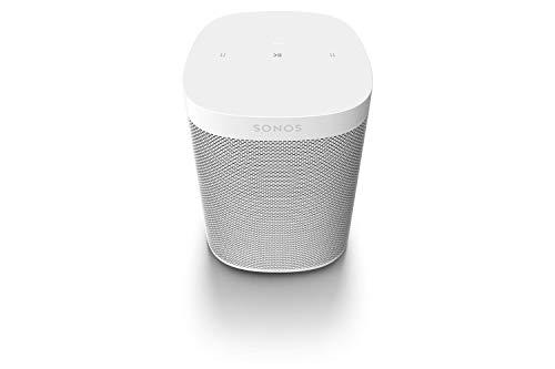 Sonos One SL All-In-One Smart Speaker, weiß - Kraftvoller WLAN Lautsprecher mit Touch Steuerung & AirPlay 2 - Multiroom Speaker für unbegrenztes Musikstreaming -