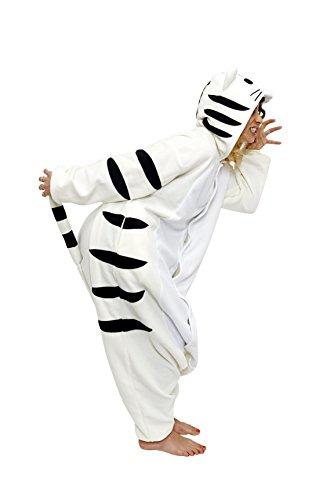 Kigu Herren Tiger Einteiler Off White (Seashell)