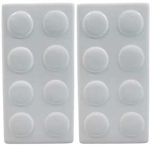 Viva Haushaltswaren - 2er Set Keramik Wasser - Verdunster Luftbefeuchter für Heizung / Flachheizkörper