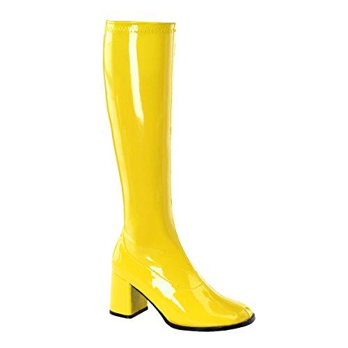 Yellow Shoe Size 7 Fancy Dress ()