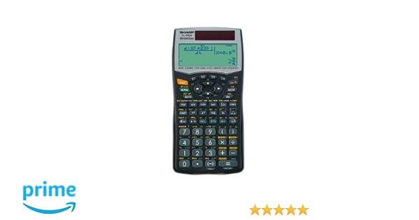 Sharp el-w506b Wissenschaftlicher Taschenrechner