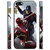 Captain America: Civil War Characters for Cover iPhone 5 5s Hard Case Cover [war6] Y3Q3OJ