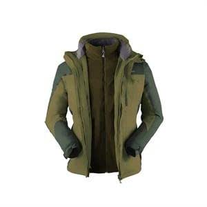 Kingcamp 3 In 1 Jacket Green (X-Large)