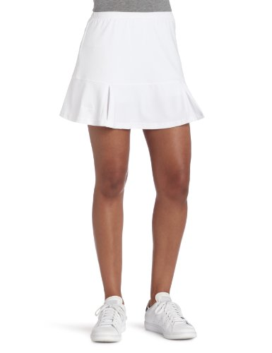 Bollé Damen Essential Godet Tennis Rock, Damen, 8682, weiß, M