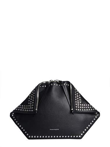 Alexander McQueen Luxury Fashion Donna 5541351BUCI1000 Nero Borsa A Mano | Stagione Permanente