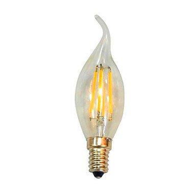 FDH E14 360 grados Velas LED emisores de luz Lámpara de luz trasera Pull,Cool White