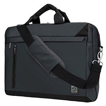 Trendige Mesenger Tasche für Dell 39,6cm 39,1cm 35,6cm Laptop Inspiron/Latitude/Precision/Alienware/Vostro/XPS schwarz schwarz 39,6 cm (15,6 Zoll)
