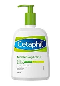Cetaphil Moisturising Lotion, Unscented, 500 ml