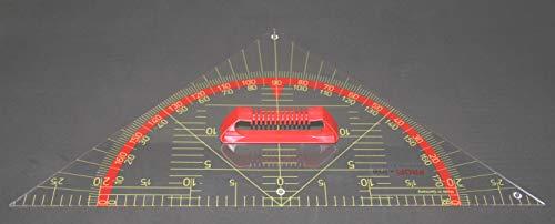 WISSNER aktiv lernen - Tafel Zeichengeräte Kleiner Geometrie Winkel