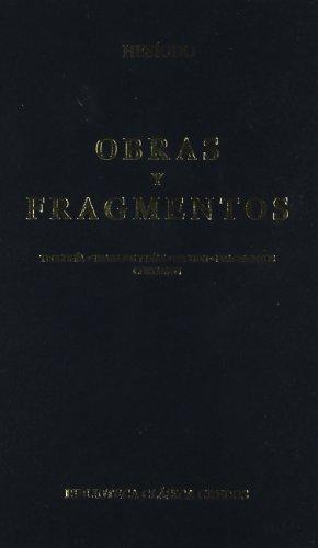 Obras y fragmentos (B. BÁSICA GREDOS) por Hesiodo